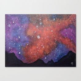 Nebula Night Canvas Print