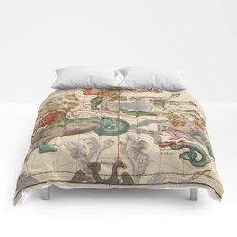 Constellations Andromeda, Pegasus, Cetus and Aries Comforters