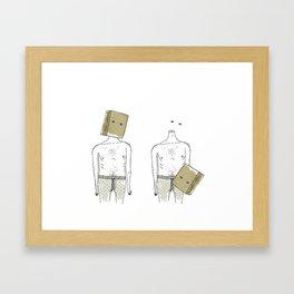 Bag it! Framed Art Print