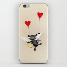 Zombie Kitty Plays Cupid iPhone & iPod Skin
