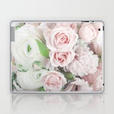 Pastel Pink Flowers Laptop & iPad Skin