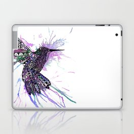Humming Bird Colour Splash Laptop & iPad Skin