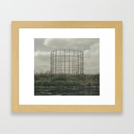 GAS Framed Art Print