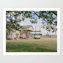 Bargain Barn Clarksdale, Mississippi Art Print