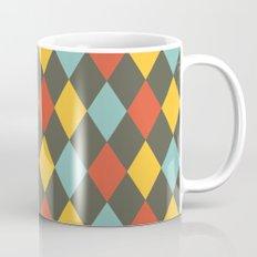 Grey Argyle Mug