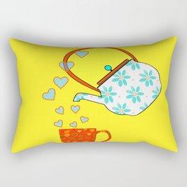 A Nice Cup Of Tea - Beverage Rectangular Pillow