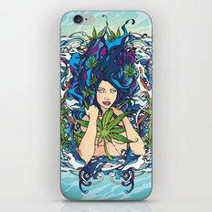 GANJA GIRL iPhone & iPod Skin