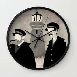 Lighthouse Keepers Wall Clock
