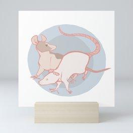 Rats Mini Art Print