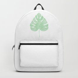 palm leaf Backpack