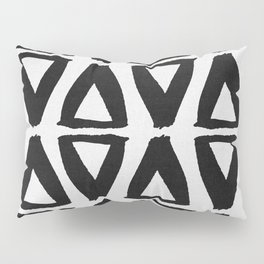 Black and White Abstract II Pillow Sham