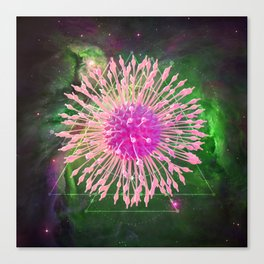 Sci-Fi Alien Life Form Canvas Print
