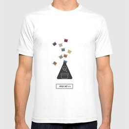 capsules ad T-shirt