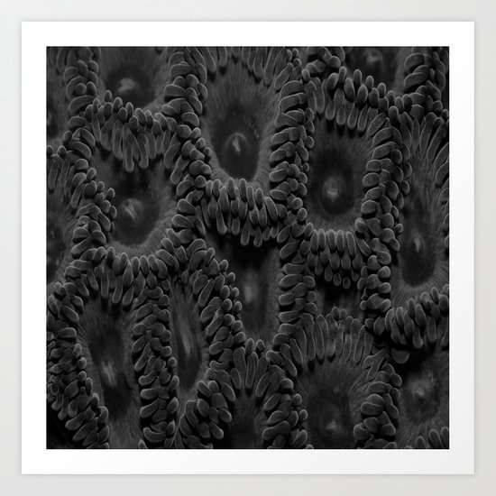 Eleven Shades of Gray Art Print