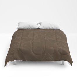 Quincy Tobacco Brown Comforters