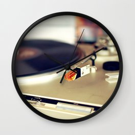 Vinyl Lover Wall Clock