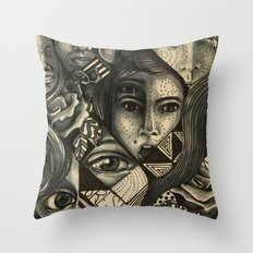 It is all about the eyes Throw Pillow