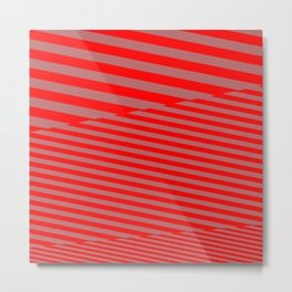 stripes. too. 5a Metal Print