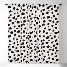 Animal Print Cheetah Print Spots 321 Blackout Curtain