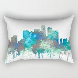 Los Angeles Skyline - SG Jungle Rectangular Pillow