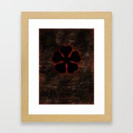 Black Clover Framed Art Print