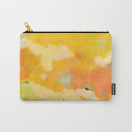 abstract spring sun Carry-All Pouch