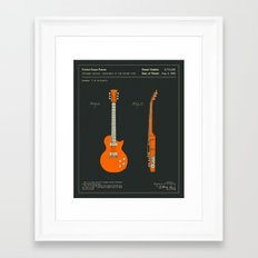 GUITAR (1955) Framed Art Print