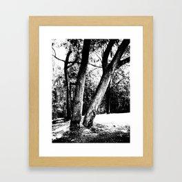 Together and Apart Framed Art Print