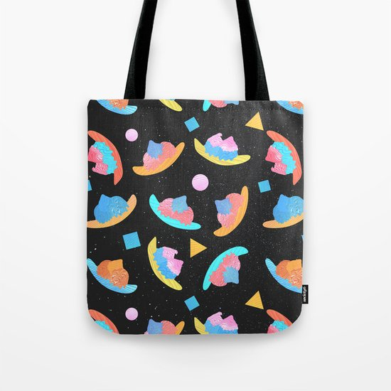 Cosmic Banana Split Tote Bag