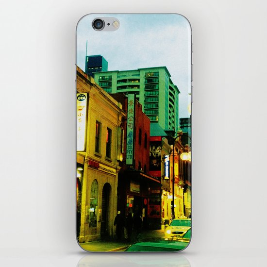 Chinatown Colour iPhone & iPod Skin