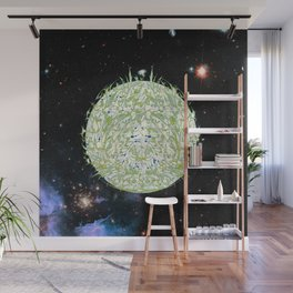 Earth - a story in space and time Wall Mural