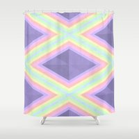 pastel Shower Curtains featuring Pastel by Teagan Casey
