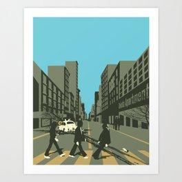 Abbey Road Reloaded Art Print