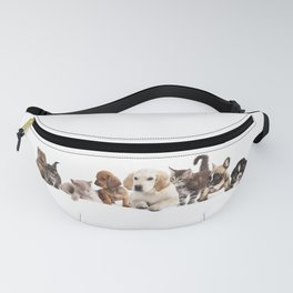 Cute Pet Panorama Fanny Pack
