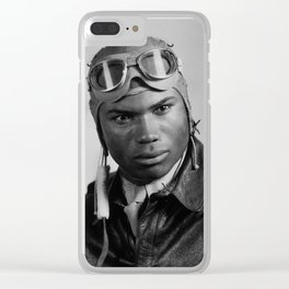 Howard A. Wooten - Tuskegee Airman Clear iPhone Case