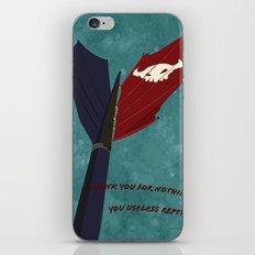 Toothless' Battle Flag iPhone & iPod Skin
