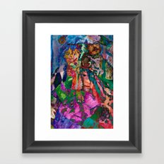Harlequin Framed Art Print
