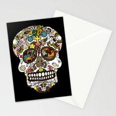 El dia de los muertos (Skull) Stationery Cards