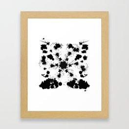 Rorsch 1 Framed Art Print