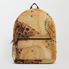 Water Serpents Gustav Klimt Backpack