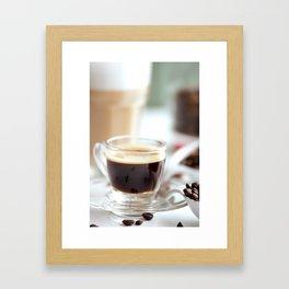 Fresh Espresso Framed Art Print