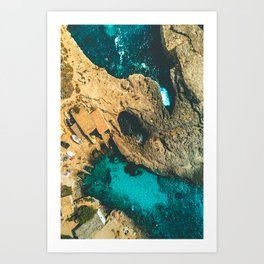 Swimming Hole Art Print