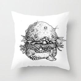 The Nasty Patty Throw Pillow