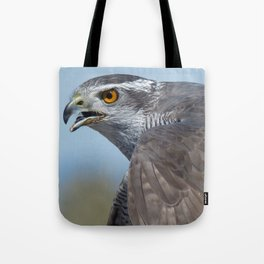 Northern Goshawk Screeching Tote Bag