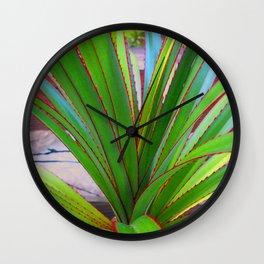 Garden Screw Pine Wall Clock