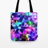 sound Tote Bags featuring Sound by KRArtwork