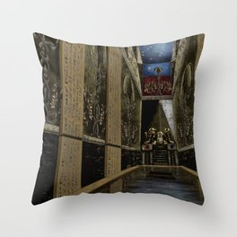 The Holy Of Holies Temple Throw Pillow
