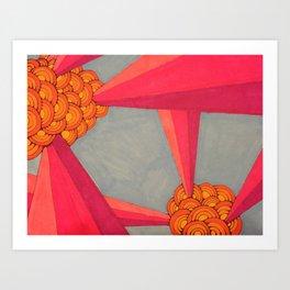 bursts II Art Print
