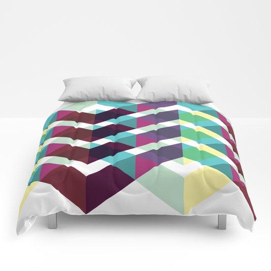 Zig Zag Pattern Comforters