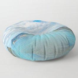 Morfa Nefyn Bay Wales Floor Pillow